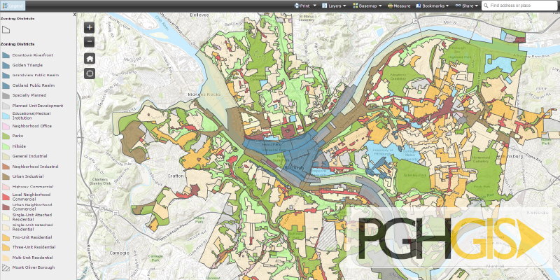 Welcome To The City Of Pittsburgh Department Of City Planning - Pittsburgh pa on us map